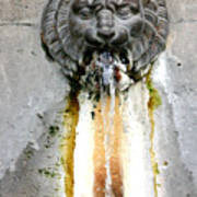 Paris - Waterfountain Art Print