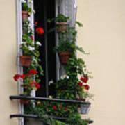 Paris - Window 2 Art Print