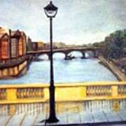 Paris After The Rain Art Print