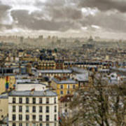 Paris As Seen From The Sacre-coeur Art Print