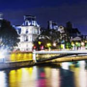 Paris At Night 22 Art Print