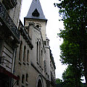 Paris Church 2 Art Print