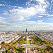 Paris City View 20 B Art Print