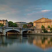 Paris Dawn Art Print