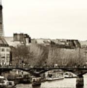 Paris Days Art Print
