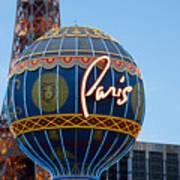 Paris-eifel Tower-las Vegas Art Print