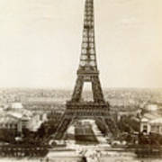 Paris: Eiffel Tower, 1900 Art Print