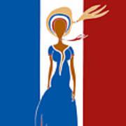 Paris Fashion Art Print
