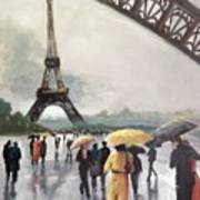 Paris Fog Art Print