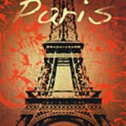 Paris In The Fall  Art Print