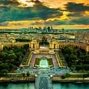 Paris Landscape Art Print