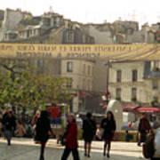 Paris Left Bank Art Print