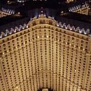 Paris Lights-las Vegas Art Print