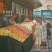 Paris Marketplace II Art Print
