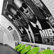 Paris Metro 4 Art Print