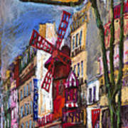 Paris Mulen Rouge Art Print