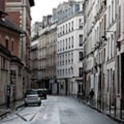 Paris Neighborhood Marais - No Right Turn 1 Art Print