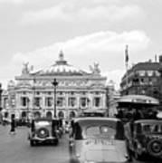 Paris Opera 1935 Art Print