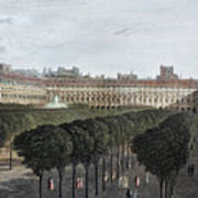 Paris: Palais Royal, 1821 Art Print