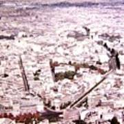 Paris Panorama 1955  Art Print