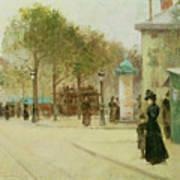 Paris Art Print by Paul Cornoyer