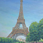Paris Eiffel Tower Art Print