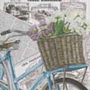 Paris Ride 1 Art Print