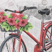 Paris Ride 2 Art Print