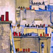 Paris Roof Tops 2 Art Print