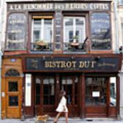 Paris Street Life 2 Art Print