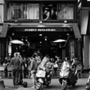 Paris Street Life 4b Art Print
