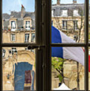 Paris Through Windows 2 Art Print
