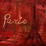 Paris - V01ct1at2cc Art Print
