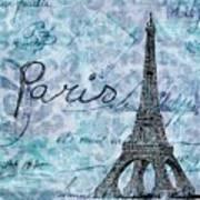 Paris - V01t01a Art Print