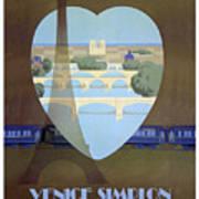 Paris Venice Railway, Orient Express Art Print