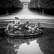 Paris Versailles . Art Print