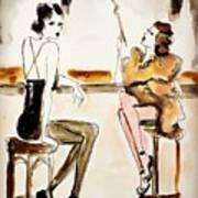Parisian Cabaret Art Print
