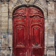 Parisian Door No.49 Art Print