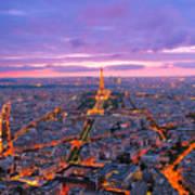 Parisian Nights Paris Art Print