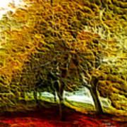 Park Landscape Art Print