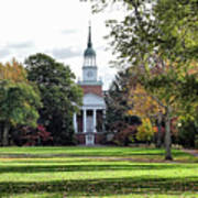 Parker Hall - Hanover College Art Print