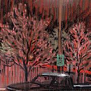 Parking Lights Art Print
