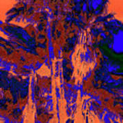 Parking Lot Palms 1 18 Art Print