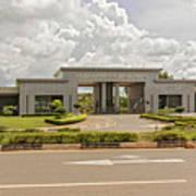 Parliament Building In Lilongwe Art Print