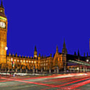 Parliament Square In London Art Print