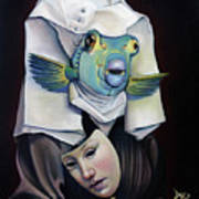Parrishfish Art Print