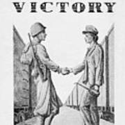 Partners In Victory Art Print