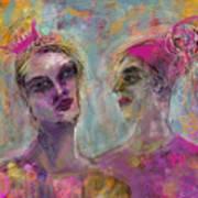 Party Girls Art Print