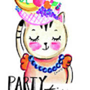 Party Time Art Print