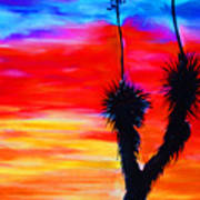 Paso Del Norte Sunset 1 Art Print